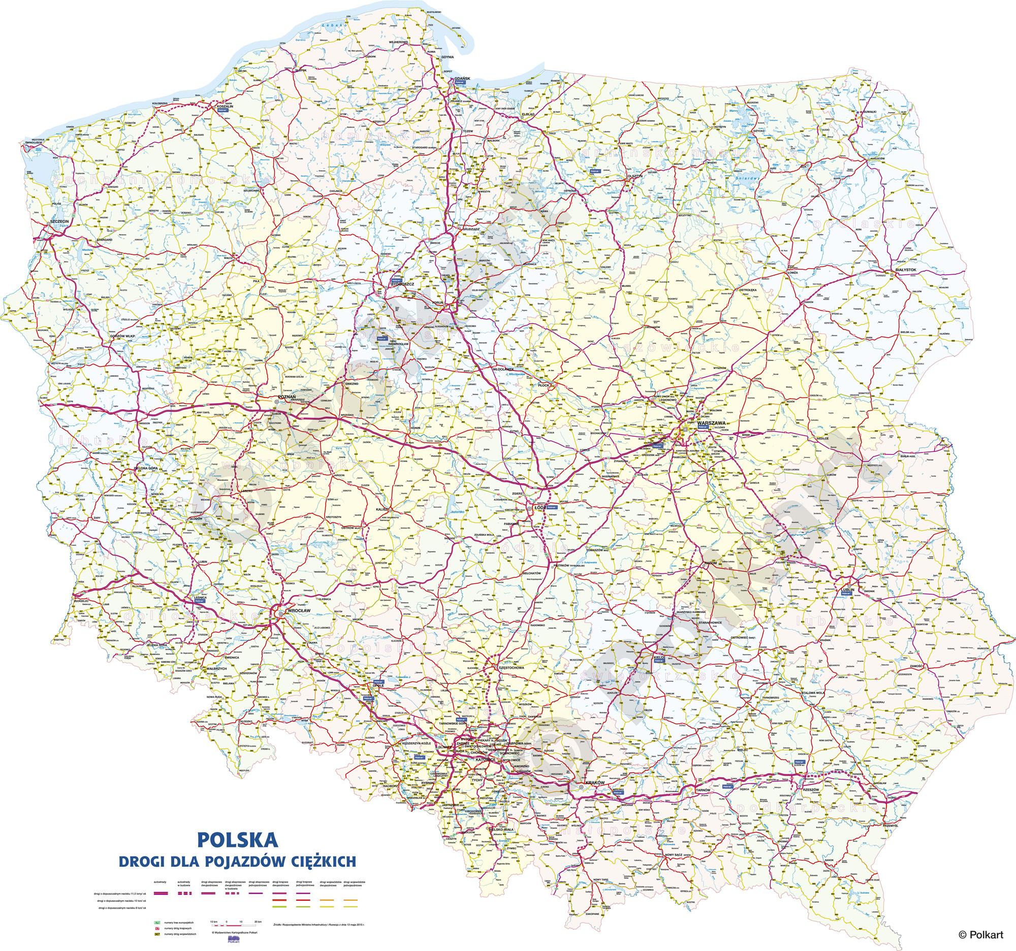 Mapa Polski Wojewodztwa Kolorowa Twoja Galeria