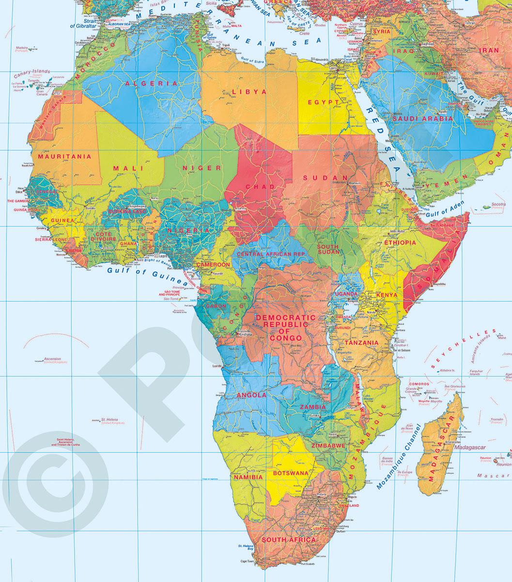 Mapy Swiata I Kontynentowwydawnictwo Kartograficzne Polkart